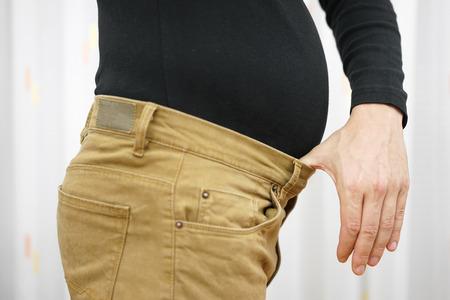 tight body: Men Stock Photo