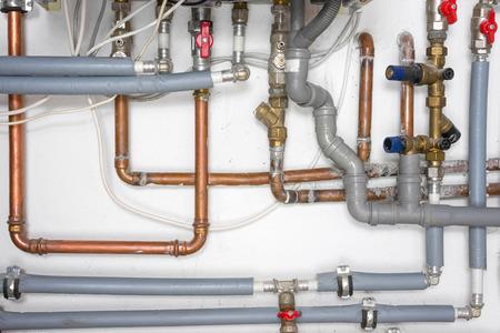 redes electricas: tuber�as y sistema de calefacci�n