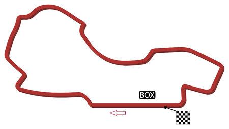 australian circuit vector