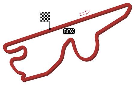japan circuit vector