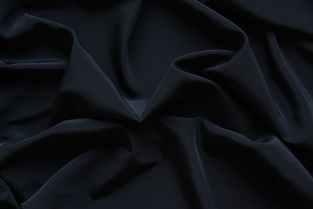 Black Fabric Texture Pattern Background Stock Photo