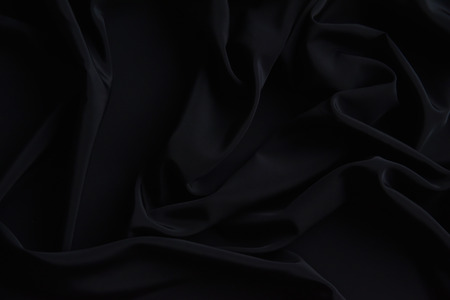 Black Fabric Texture Pattern Background Stock fotó