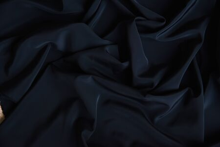 Black Fabric Texture Pattern Background Stockfoto