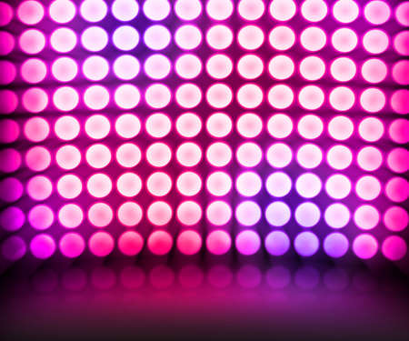 Violet Dance Disco Lights Stage Background photo