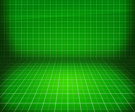 Green Blueprint Stage Background photo