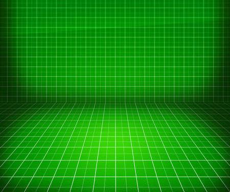 tabulation: Green Blueprint Stage Background