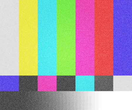 TV Test Screen Background Stock Photo - 13596130