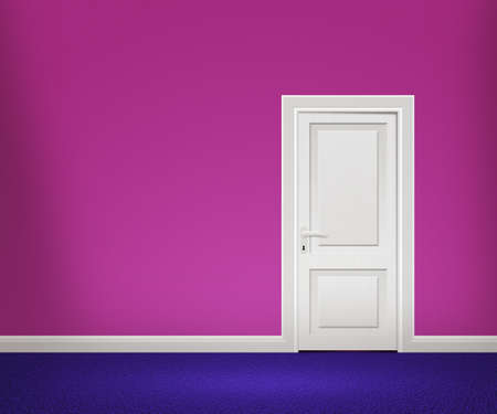 Door in Violet Room photo