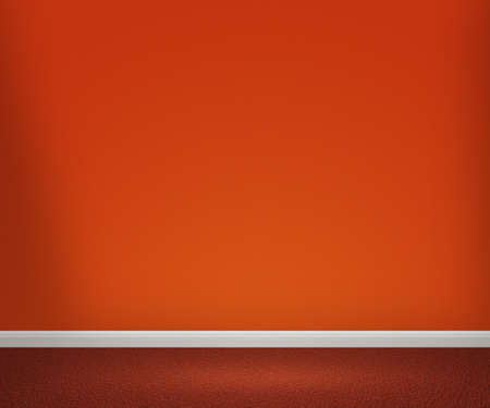 Orange Room Stock Photo - 13621229