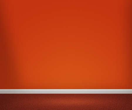 Orange Room Stock Photo - 13621229