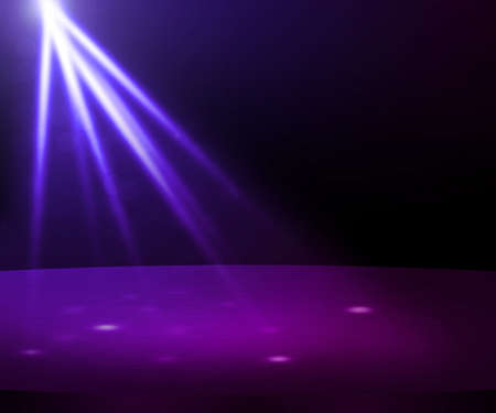 club scene: Violet Party Spotlight Stage