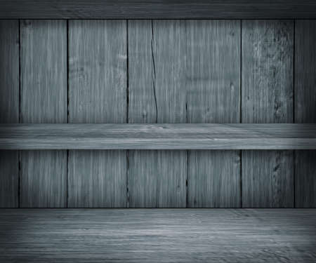 Gray Wooden Shelf Background photo