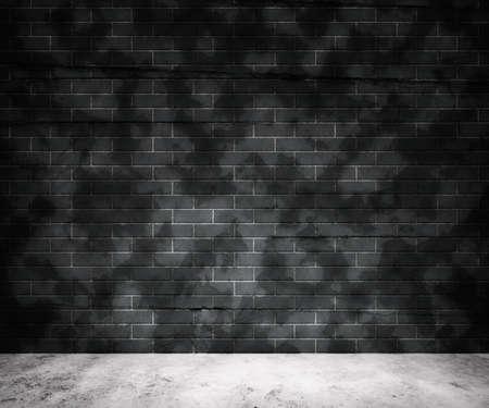 Grunge Gray Brick Wall Background Stock Photo - 13698519