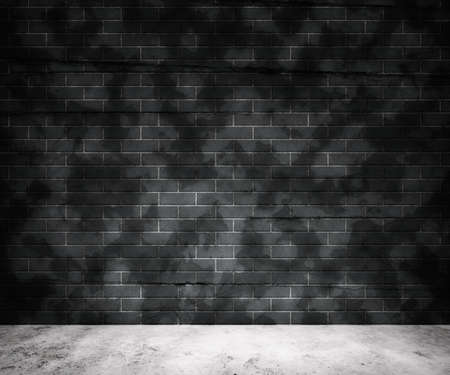 Grunge Gray Brick Wall Background Stock Photo - 13698519