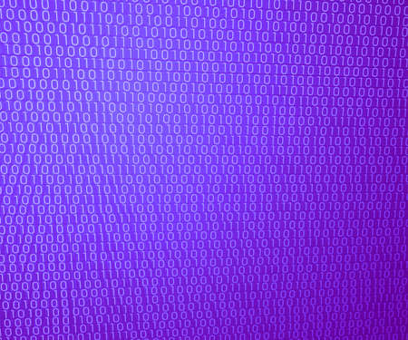 Violet Binary Wall Background photo
