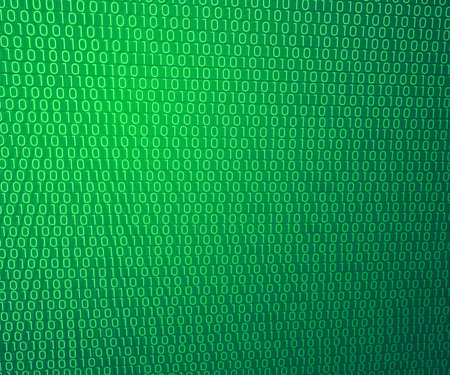 Green Binary Wall Background photo