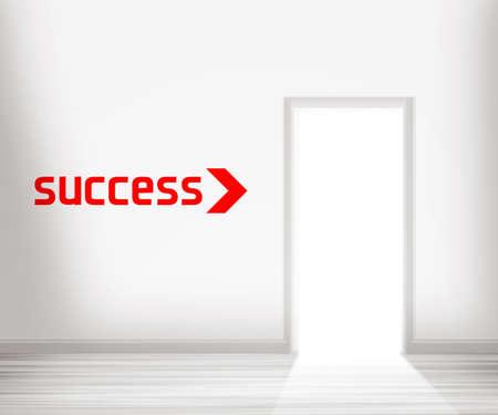 Door to Success Stock Photo - 13752048