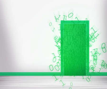 Green Door to Future photo