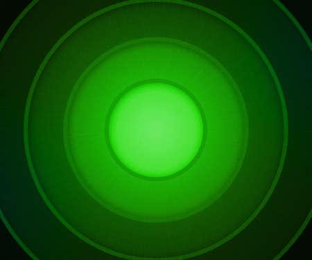 Green Circles Background photo