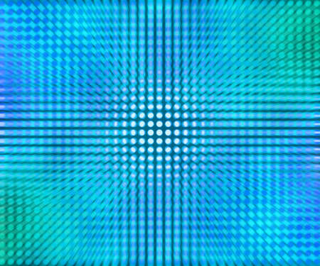 Blue LED Dots Abstract Background photo