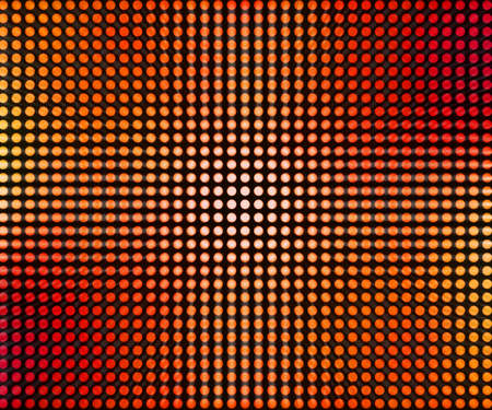 Red LED Dots Abstract Background Stock Photo - 13892998
