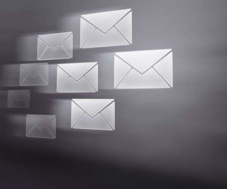 E-mails Abstract Background photo