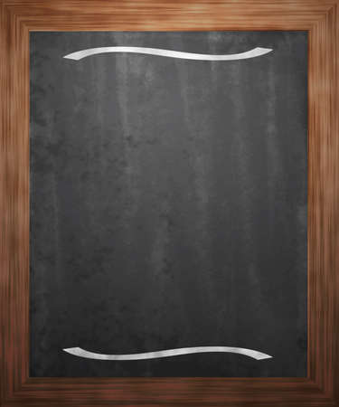 Menu Blackboard Background photo