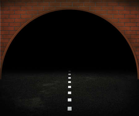 Dark Tunnel Stock Photo - 14055660