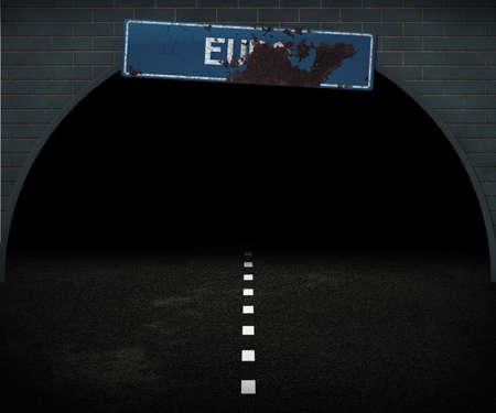 Dark Euro Way Stock Photo - 14055655