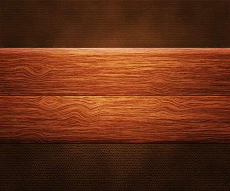 suede belt: Los tableros de madera en cuero Foto de archivo