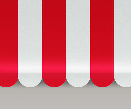 awnings: Red Awnings Background Stock Photo