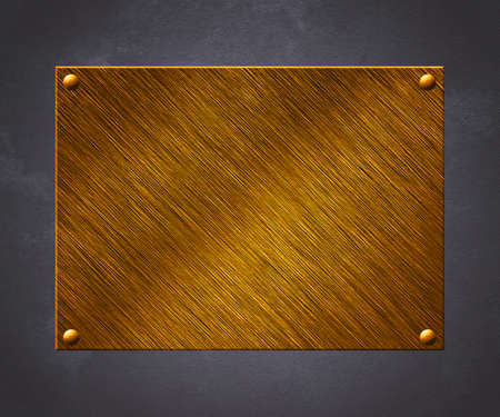 Golden Plate Background Stock Photo - 14056637