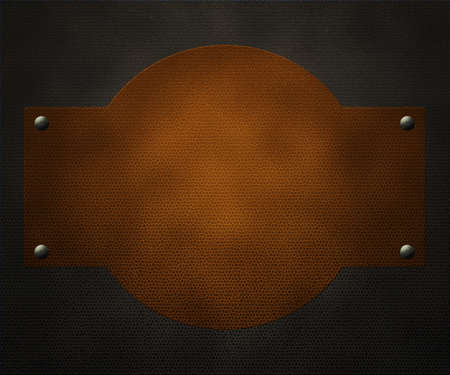 Leather Label Background photo