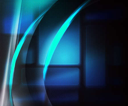Tech Blue Abstract Background photo