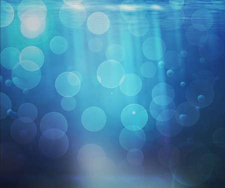 Underwater Bokeh Background Stock Photo - 14069973