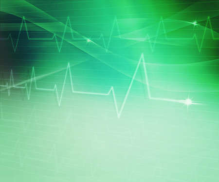 Green Abstract Medical Background photo