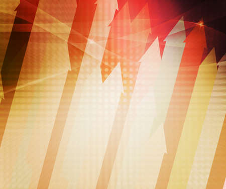 Orange Arrows Abstract Background photo