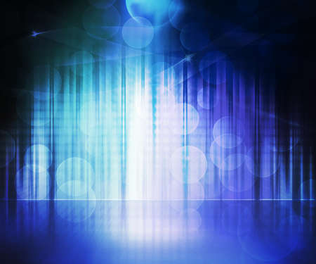 dance floor: Blue Abstract Stage Background
