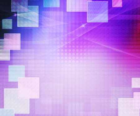 Violet Abstract Squares Background photo