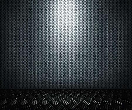 Metal Interior Background Stock Photo - 14320187