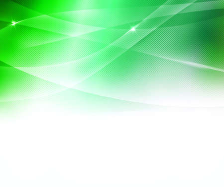 intentional: Green Business Abstract Background