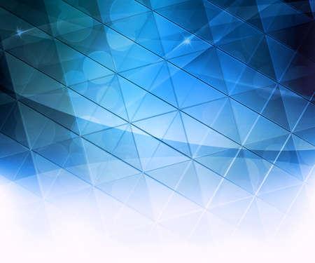 Blue Squares Abstract Background Reklamní fotografie