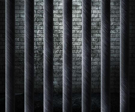 carcel: Prisi�n de fondo de celda Foto de archivo
