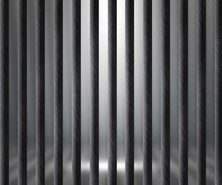 Empty Prison Cell Background Stock Photo - 14367365