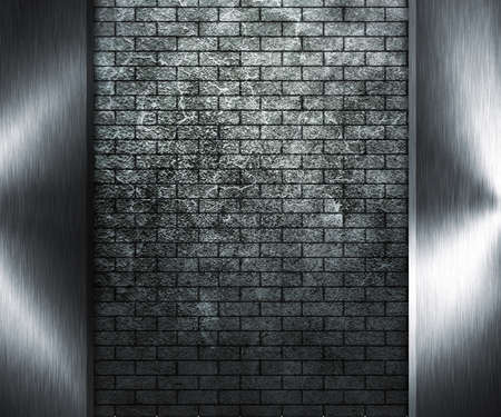 Grunge Wall and Metal photo