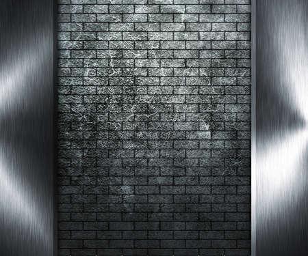 Grunge Wall and Metal