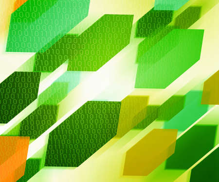 Green Download Concept Background photo