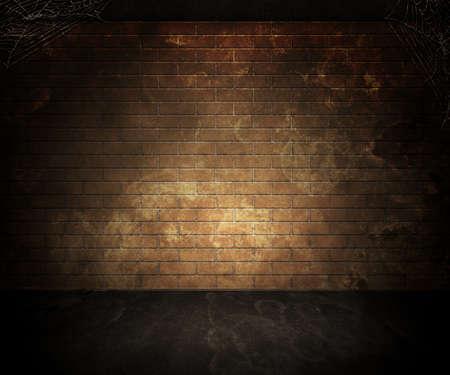 Donkere Kelder Achtergrond Stockfoto