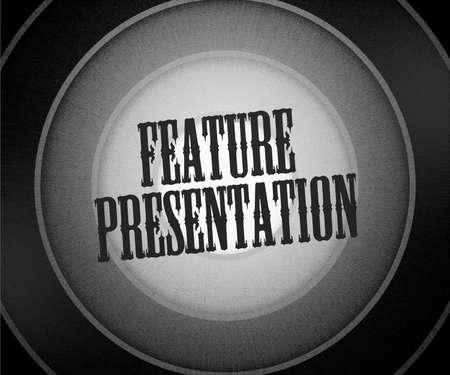 Feature Presentation Background Stock Photo - 14780942