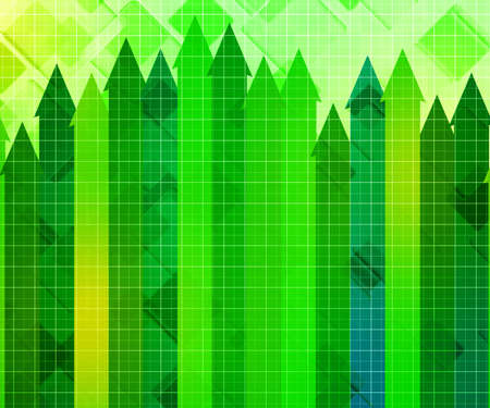 Growth Business Chart Background photo